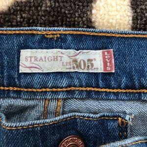 Levi's Jeans - Levi's 505 straight leg jeans